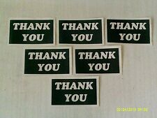 10 - 400 Thank You words stencils for etching on glass  hobby craft present gift
