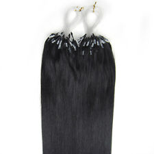 "26"" Indian Premier Remy Loop Micro Ring 100% Human Hair Extensions AAA* UK"