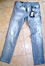 BNWT  DSQUARED 2 GREY  SLIM JEANS MAN,NEW COLLECTION SUMMER'15,ALL SIZES