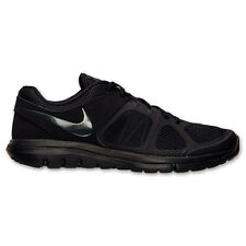 Nike Flex Run 2014 Men's Running Shoes Black NEW with Box