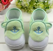 S078 Newborn to 18M Baby Child Cute Cartoon Soft Cotton Toddler Shoes US