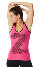 Zumba Dance Fitness Mirror Me Racerback Tank Top Shirt - SLIMMING/ FITTED/ HOT!
