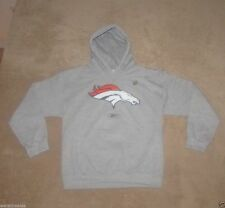 Denver Broncos Reebok Men's HOODIE Hooded Sweatshirt New NFL Football