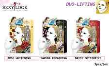 SEXYLOOK HYALURONIC ACID DUO LIFTING FACIAL MASK 5pcs