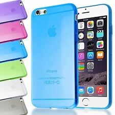 SLIM ULTRA THIN 0.3MM TRANSPARENT CLEAR GEL SOFT BACK CASE COVER FOR IPHONE 6 6S