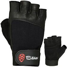 Weight Lifting Gloves Gym Workout Wrist Wrap Sports Exercise Training Fitness