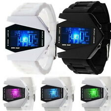 Digital Light Sports Quartz Soft Silicone Fashion LED Watch Girls Boys Watch TOP