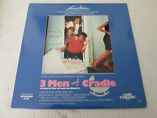 THREE MEN AND A CRADLE EXTENDED PLAY LASERDISC