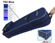 "A99 Golf T02 Travel Cover Bag with rolling wheels 50"" Black or Blue"