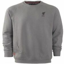 New Official LFC Warrior Condemned Liverpool FC Grey Sweatshirt Mens Warm Fleece