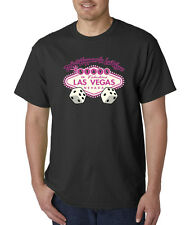 What Happens In Vegas Stays In Vegas Dice Pink T-Shirt S-5XL