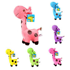 New Nice Plush Giraffe Soft Toy Animal Dear Doll Baby Kids Child Birthday Gifts