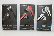 SMS Audio Street 50 Cent Wired In-Ear Headphones with MIC/MUTE Ear Buds Color