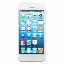Apple iPhone 5 - 32 GB - White Silver - GSM FACTORY UNLOCKED - IMPORTED