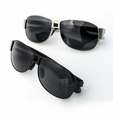 Unisex Inner Blue Block Lens Polarized Aviator Sunglasses Cycling Traveling
