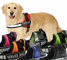 NEW Service Dog Harness Vest Comes with 2 Removable SERVICE DOG Velcro patches