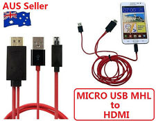 NEW MICRO USB MHL to HDMI HDTV ADAPTER CABLE FOR LG SERIES PHONE LG Optimus G