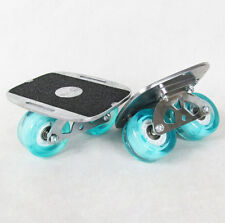 Portable Freeline Roller Road Drift Board Skates Anti-slip Plate Aluminum Truck