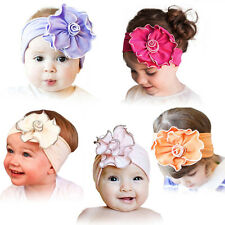 Baby Infant Kids Girls Hair Head Band Flowers Elastic Headband Headwear Top Sale
