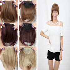 Women Clip In On Bang Bangs Fringe Hairpiece Fringe Hair Extensions Bangs US