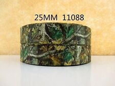 "1"" Green Mossy Oak Real Tree hunting  Ribbon  - COMBINED SHIPPING"
