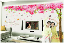 EXTRA Large Wall Stickers BIG Warm and Sweet Wall Decals Flowering Cherry Tree