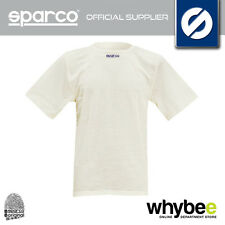SPARCO KARTING UNDERWEAR SOFT TOUCH SHORT SLEEVE KART T-SHIRT WHITE (NOT FIA)
