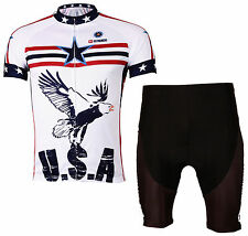 Cycling Jersey Cycle Shirt Bicycle Jersey Cyclist Suit & Short Set MIX-S02