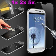 9H Premium Real Tempered Glass Film Screen Protector Guard For Samsung Galaxy