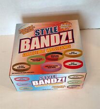 "Brand New Sealed ""STYLE BANDZ!"" Collectible Wristbands; Multiple Colors"