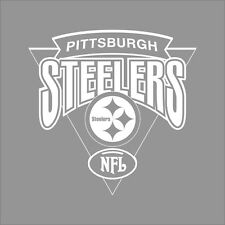 Pittsburgh Steelers #5 NFL Team Logo 1 Color Vinyl Decal Sticker Car Window Wall