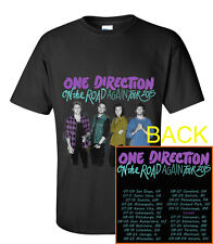 One Direction On The Road Again Tour Date 2015 2'Sides T-Shirt S M L XL 2XL 3XL