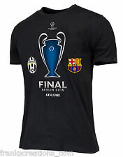 Juventus Shirt. FINAL BERLIN 2015 Juve Barcellona Champions League Final T Shirt