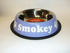Personalized ProSelect AntiSkid Stainless Steel Dog Cat Pet Food Bowl Water Dish