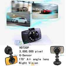 "720P 2.7"" TFT HD 1080P Car DVR Vehicle Camera Video Recorder Dash Cam G-sensor"