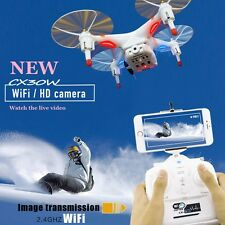 Cx-30w 6-axis-2.4 GHz 4CH Gyro WIFI REAL TIME VIDEOCAMERA rcfpv Quadcopter Drone