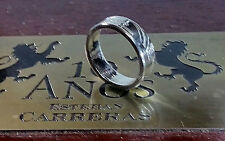Handmade Coin Rings from State quarters Sizes 7-9 Double Sided coin ring.