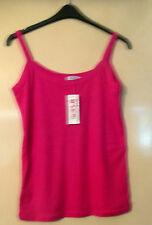 hot pink vest top BNWT  size 16-18 by Gorgeous