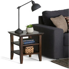2-Set End Side Table Nightstand Night Stand Storage Shelf Living Room Furniture