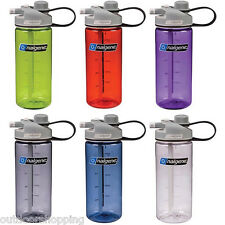 Nalgene Multi-Drink Water Bottle - Twist-Off Closure Or Pop-Out Straw, USA Made