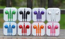 Earbud Earphones Headset Headphone with Mic for Apple iPhone 5 iphone 6 iPod 3.5