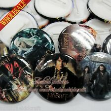 Hot The Hobbit Tin Buttons pins badges,30MM,Round Brooch Badge,Clothes Decorate
