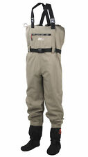 SCIERRA DRY-LINE TASLON STOCKING FOOT CHEST WADERS FLY FISHING TROUT SALMON PIKE