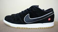 New DS Nike Dunk Low Premium SB QS Black Silver Quarter Snacks sz 8.5 or 12