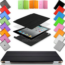 New Smart Stand Slim Magnetic Leather Case Cover For APPLE iPad Air 4 3 2 Mini