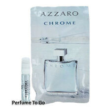 AZZARO CHROME for MEN NEW Classic Fragrance EDT Spray Travel Vial Sample Sealed