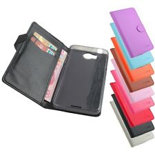 Fashion Stand Wallet Build-in Folio Cover Case Skin For Lenovo M530 Mobile Phone