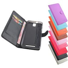 "New Leather Folio Wallet Stand Case Cover Skin For 5.5"" Zopo ZP998 Mobile Phone"