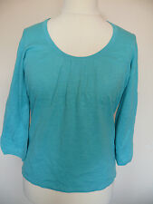 Boden ruched lightweight jumper coral red or aqua blue Sizes 12, 14, 16 or 18