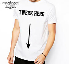 TWERK HERE T SHIRT Breezy Chris Brown Hoes Aint Loyal Fresh Dope Trill Stag Do